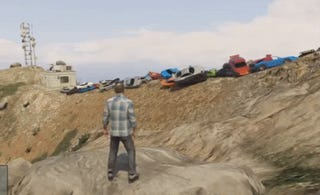 My New Favourite Thing: 100 Cars Exploding In GTA V