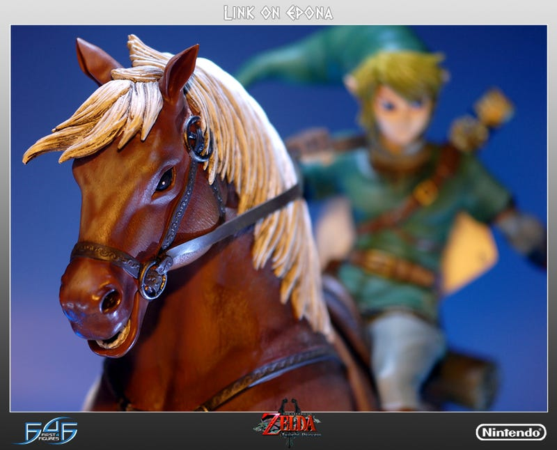 Would You Pay More Than $400 for a Link Statue? What If They Threw In a Horse?