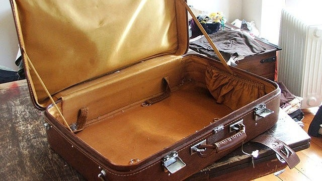 Haul Your Luggage Out Weeks Before a Long Trip to Toss in Random Items