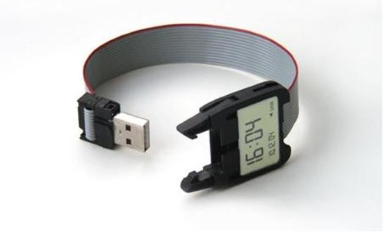 USB Watch is Deconstructed Electronic Geekiness In Action