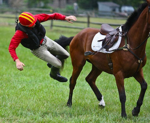 Air Bags Make Falling Off a Horse Fun—Or At Least Less Deadly