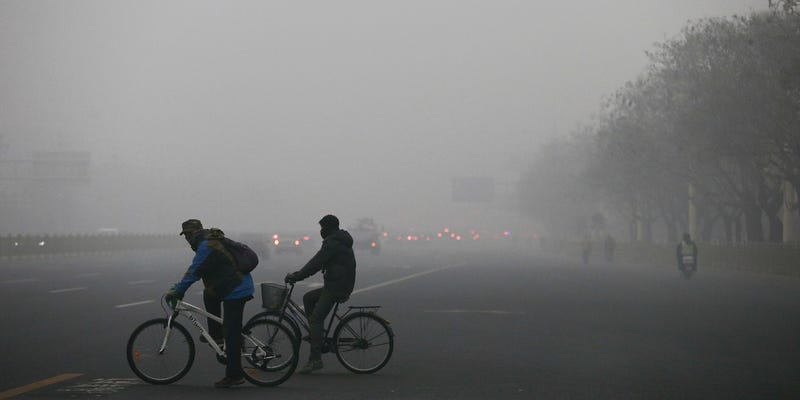 In Pictures: China Is Enveloped In Thick and Dangerous Smog