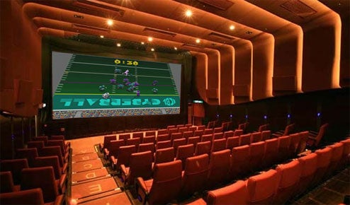 Canadian Theaters Let You Game On 50 Foot Screens
