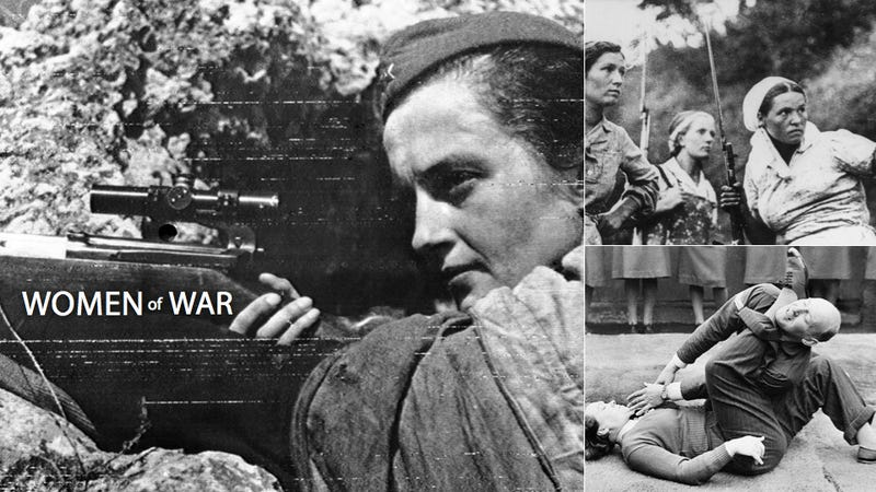 The Completely Capable, Decidedly Deadly Women of World War 2