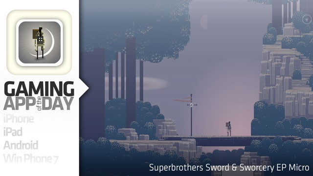 The Lovely Superbrothers Sword & Sworcery EP Now Micro-sized For iPhone & iPod touch