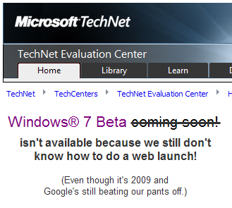 In 2009, Microsoft Still Underestimates the Web