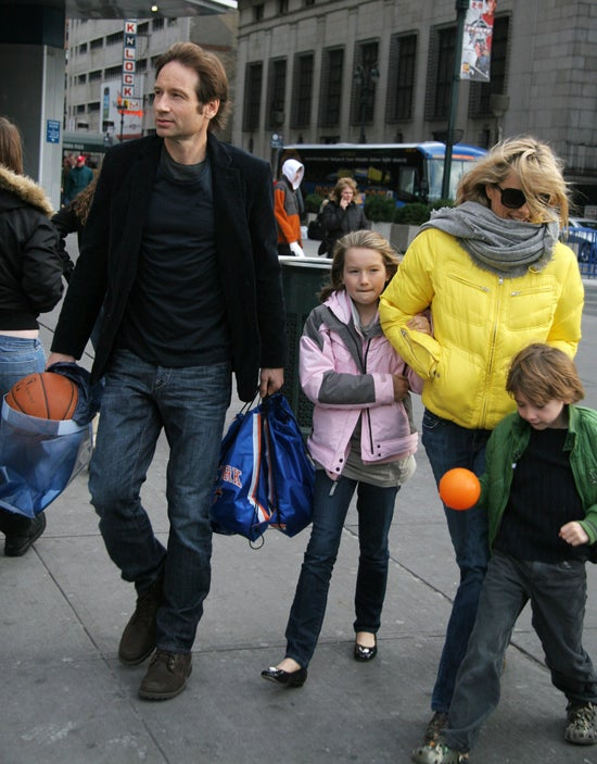 David Duchovny & Téa Leoni: Keeping It Together For The Kids?