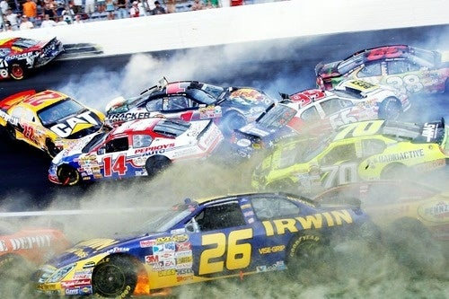 Yeeee-Haw! NASCAR Encouraging Higher Speeds, More Crashes!