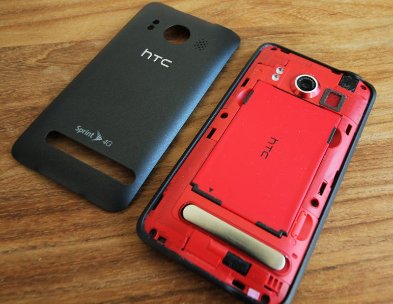 White HTC Evo Completely Misses the Point