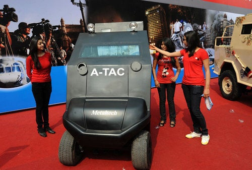 ATAC Armored Golf Cart: Prototype Photos