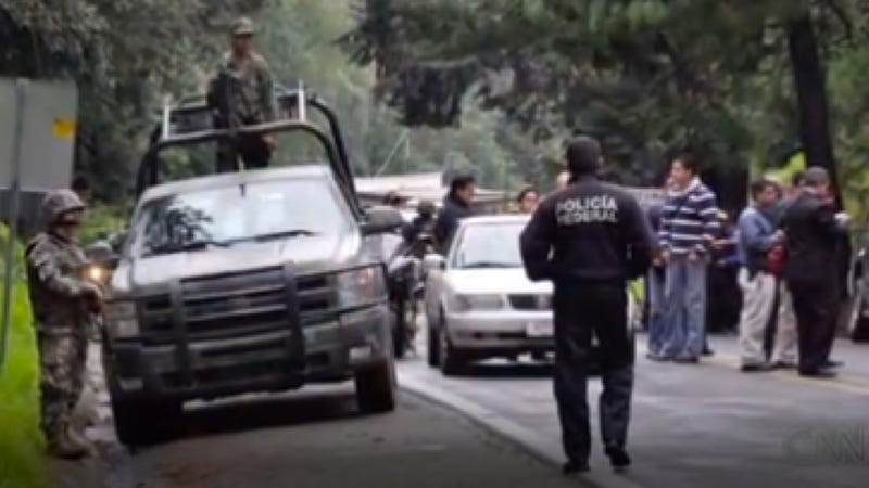 12 Mexican Police Officers Were Arrested For Shooting At A US Embassy Truck