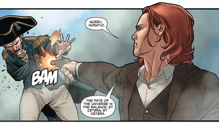 Read The Impressively Shocking Conclusion Of <i>Ivar, Timewalker #1</i> Here