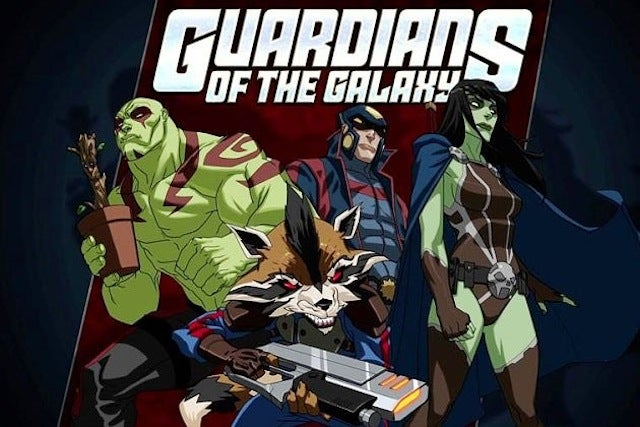 Marvel's Already Making A Guardians Of The Galaxy Cartoon Series