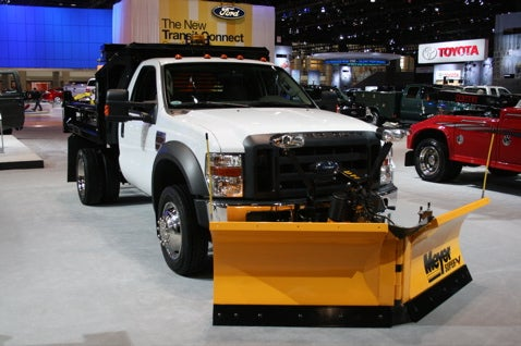 Chicago Auto Show: Commercial Trucks And Vans