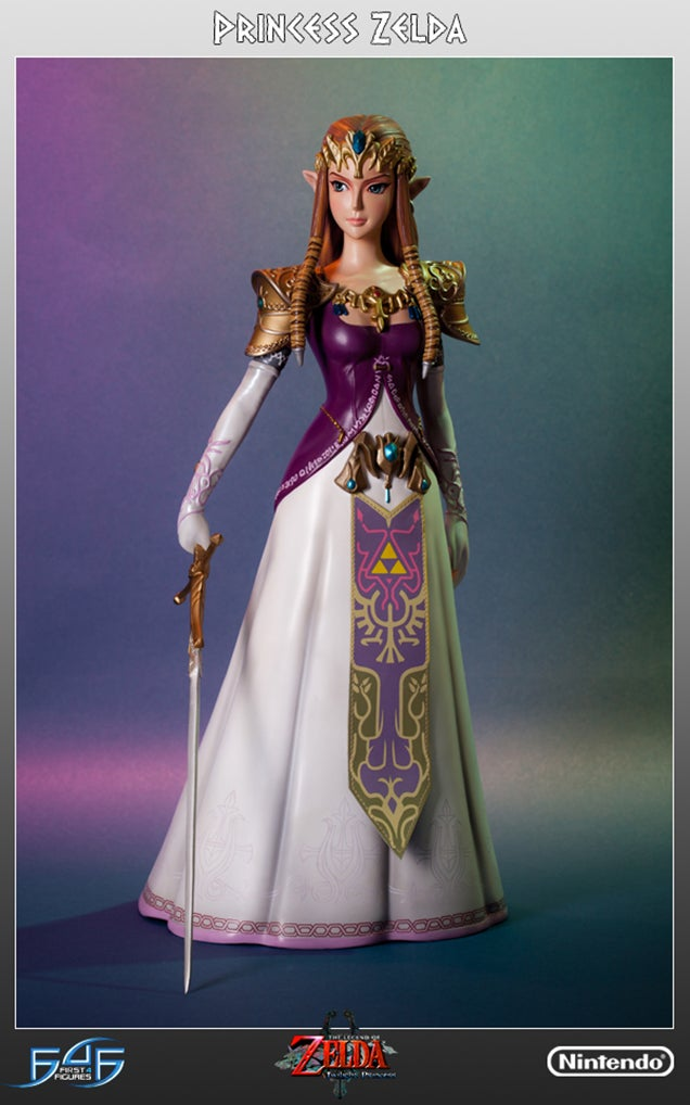 The Princess Zelda Statue I've Been Waiting For