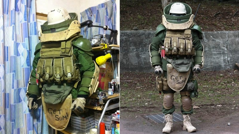 This Might Be the Last Cosplay You'd Expect from Japan
