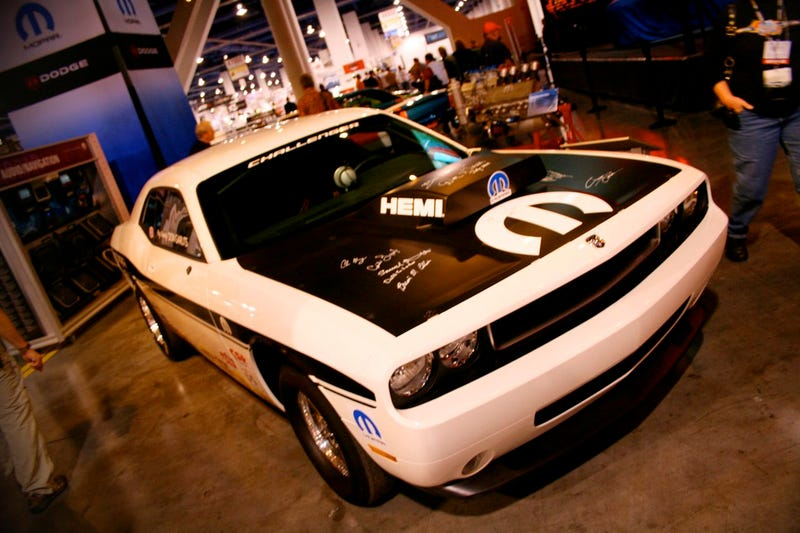 """Big Daddy"" Don Garlits' Dodge Challenger Drag Pack At SEMA"