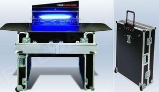 Finally, a Portable Bar in a Suitcase