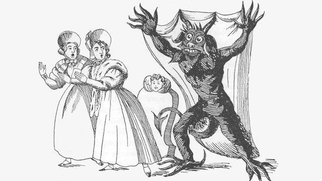 Was this family attacked by Spring-heeled Jack, or just a jogger on PCP?