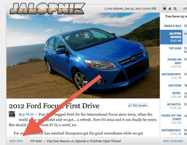 Welcome to the new Jalopnik 5.0!