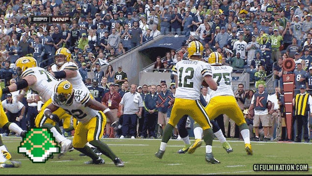 Well, That Was An Enormous Disaster: Seattle Beat Green Bay, In Three GIFs