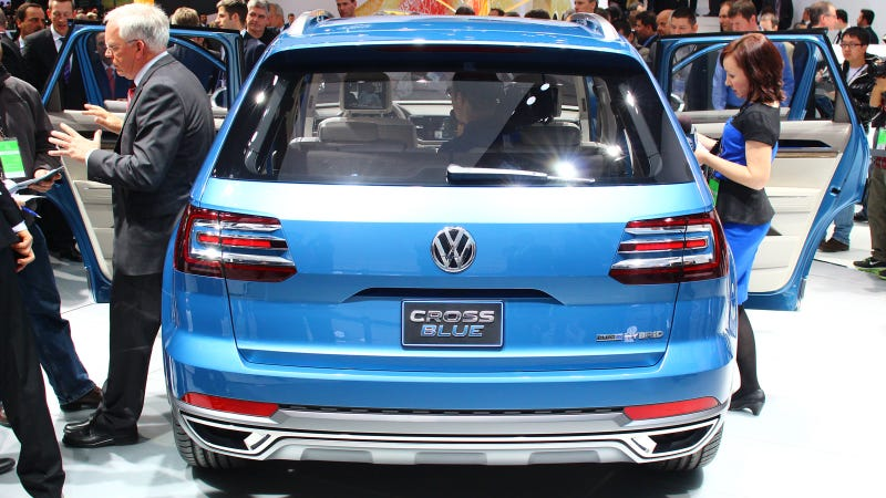VW CrossBlue Concept: Screw You, We're Making A Diesel Hybrid SUV Out Of A Golf