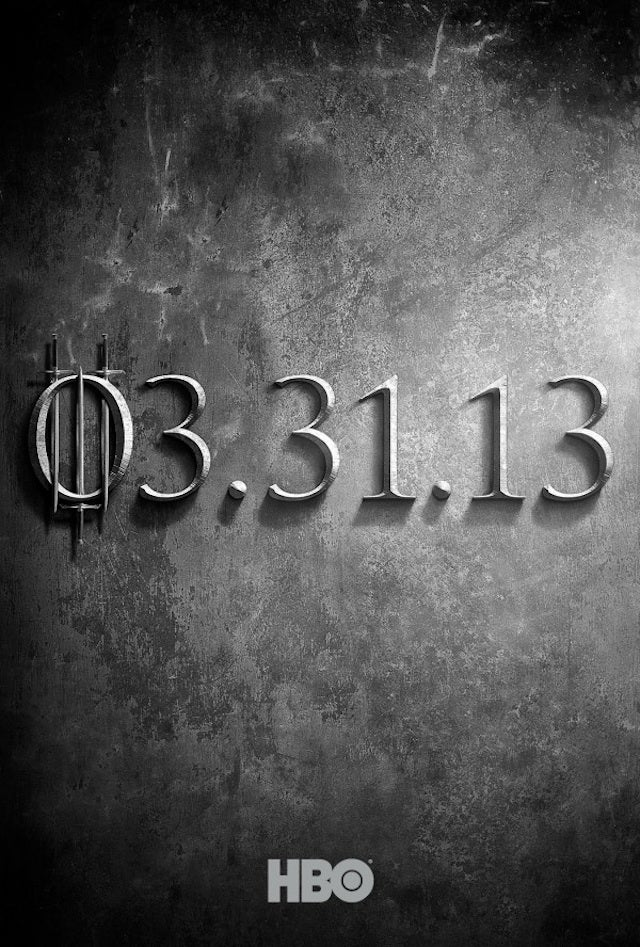 It Is Known, Khaleesi: Game of Thrones Returns For Season Three This March