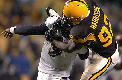 James Harrison Threatens To Quit Football If He Can't Continue Hurting People
