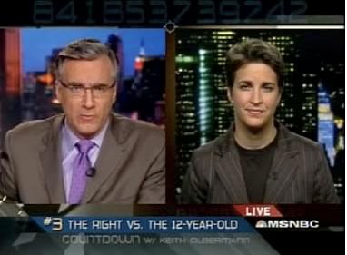 Olbermann vs. Maddow: It's On!