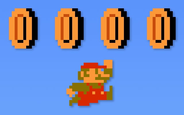 Why There Are Coins In Super Mario Bros.