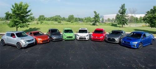 Motorweek Sport Compact Comparison