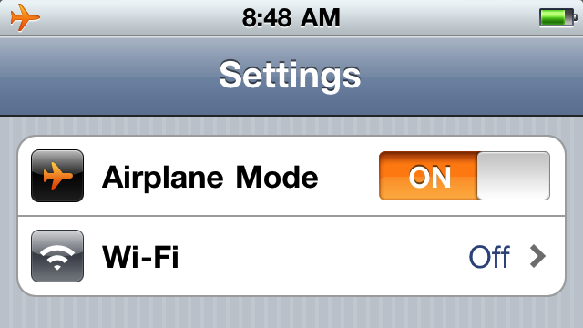 Use Airplane Mode as an Alternative to Silencing Your Phone