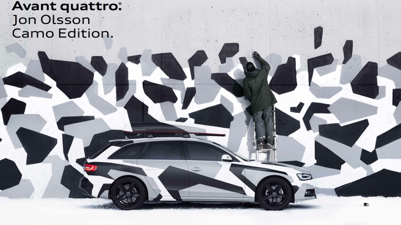 Audi Sweden Builds 50 Jon Olsson Camo Edition A4 Avant Quattros