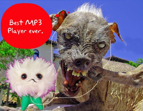 An MP3 Player Only the World's Ugliest Dog Could Love