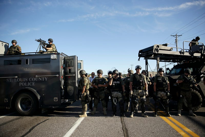 How Police Departments Became Armies