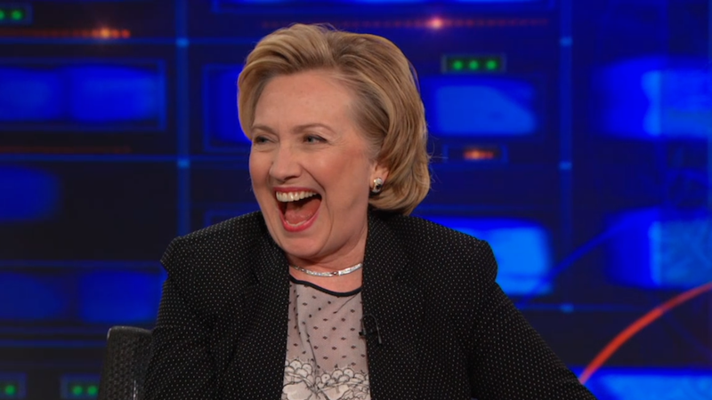 Hillary Pretends She Might Not Run for President on The Daily Show