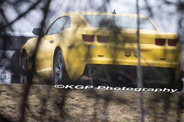 2010 Chevy Camaro Caught Wearing Velocity Yellow