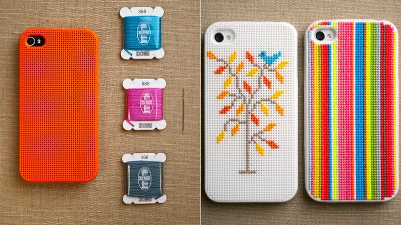 Cross-Stitched iPhone Cases Are Cooler than Your Grandma
