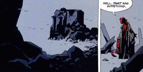 Where Hellboy Came From, And Where He's Going