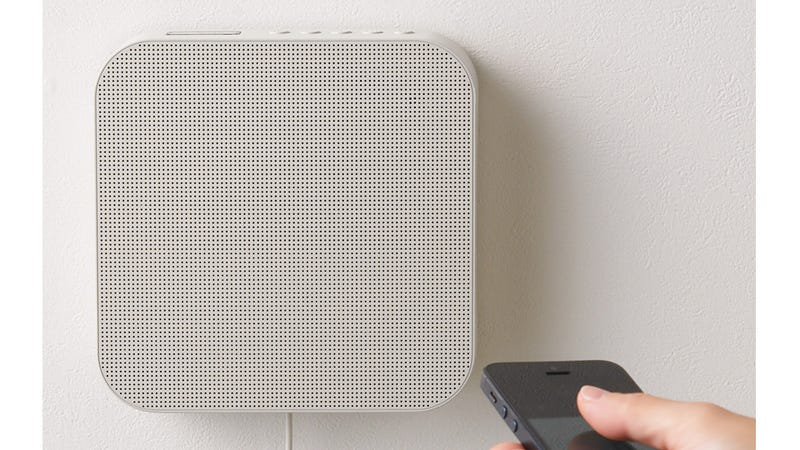 Muji's Minimalist Bluetooth Speaker Will Disappear Into Your Walls