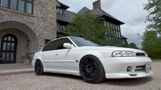 This Twin-Turbo Subaru Legacy is JDM Subtlety Done Right