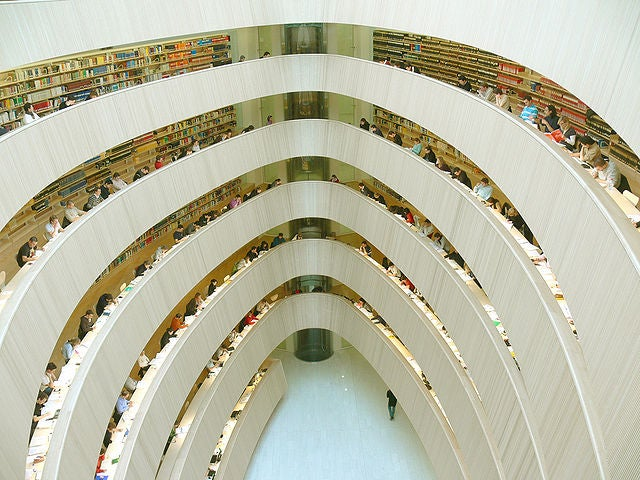 Check out the world's most beautiful libraries