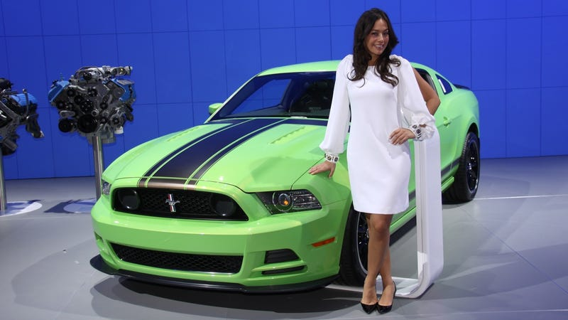 2012 Detroit Auto Show, Day One