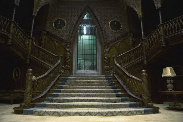 The Interior of Collinwood Manor: New Stills from Dark Shadows