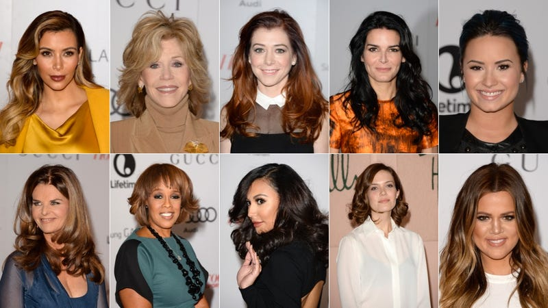 Stylish Daytime Glamour at the Women in Entertainment Breakfast