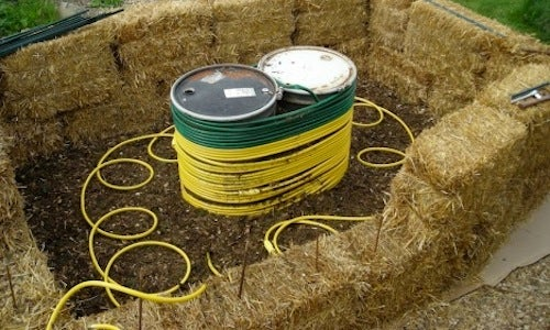 Generate Hot Water with Your Compost Heap