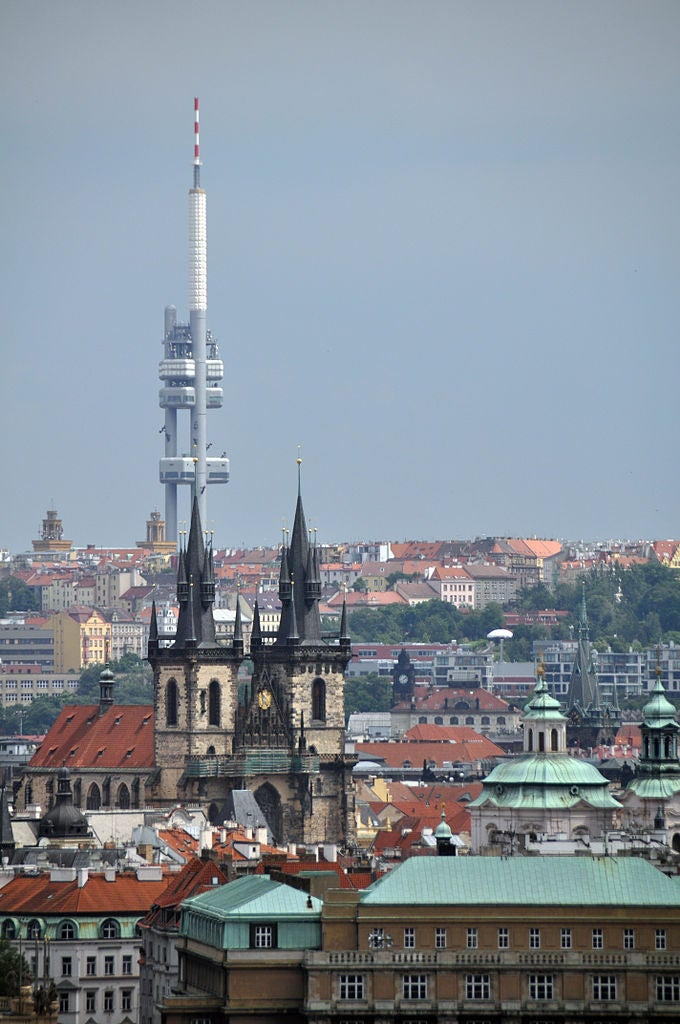 You Can Spend the Night in This Television Antenna Above Prague