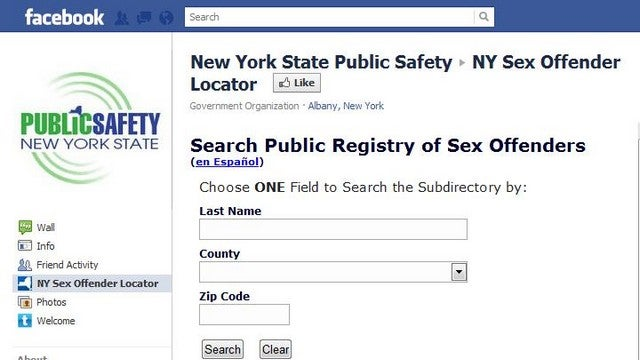 Facebook Now Keeping Track Of Your Town's Perverts