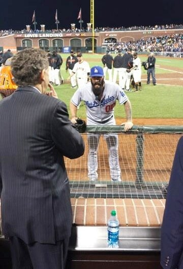 Brian Wilson Yells At Giants President About His World Series Ring