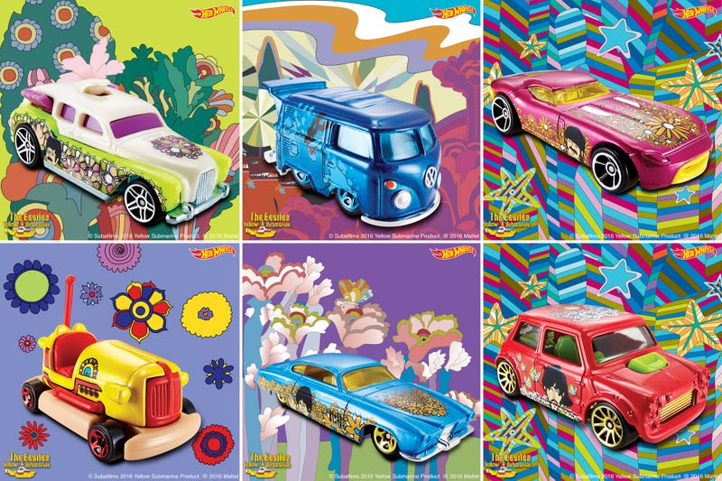 You Can Now Add The Beatles' Yellow Submarine to Your Hot Wheels Collection